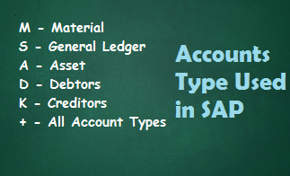 account type in sap