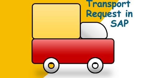 transport request in sap