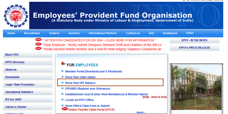 How to check your EPF balance – Employee Provident Fund Balance Online