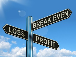 How to determine break even point - BEP