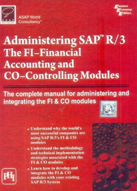 Administering SAP R3 The FI and CO