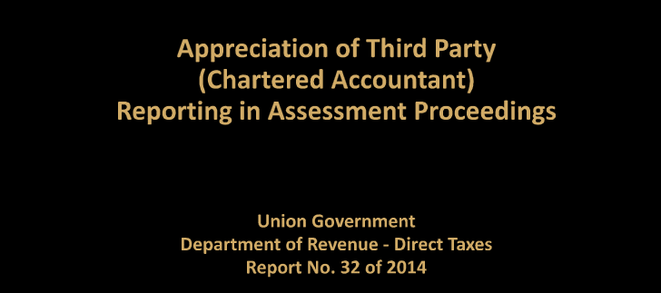 chartered accountants have issued more than 400 tax audit report for AY 2013-2014